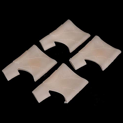 Séparateur D'orteils, 2 Paires Hallux Valgus Correcteur D'oignons Élastique Respirant Séparateur D'orteils Outil De Correction(LUMIÈRE)