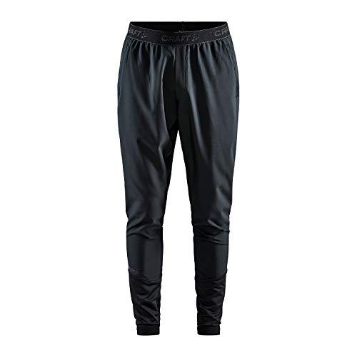 Craft ADV ESS - Pantalones de Deporte para Hombre, Hombre, Pantalón de Correr, 1908716-999000-8, Negro, XX-Large