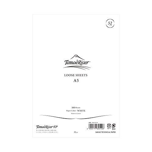 Tomoe River FP Loose Sheet 5.85 x 8.27' (A5) WHITE (LOOSE SHEET)