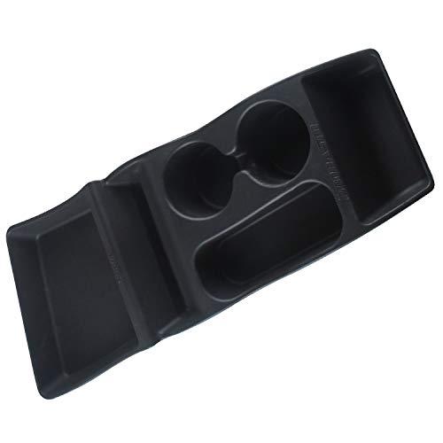 Sothat Auto Aufbewahrungs Box Konsole Container Center Insert Box Cup Brillen Halter für Tesla Model S 2012-2017 Auto Zubeh?R