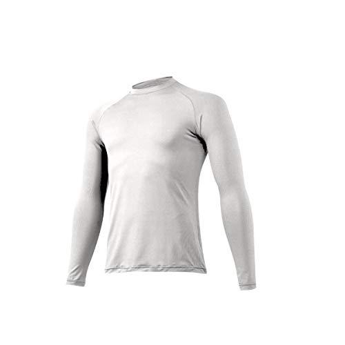 ミズノ ゼロプラス 野球 アンダーシャツ 夏 吸汗速乾 ジュニア 少年 丸首 長袖 12JA5P50 ホワイト(01) 130