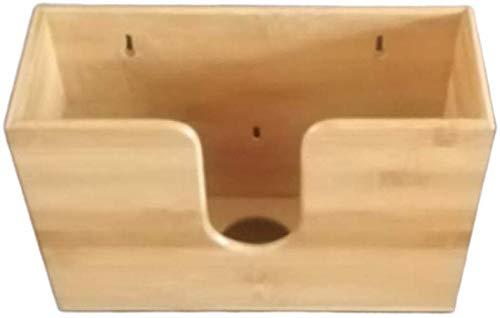 Bambus Papier Handtuchspender, Papier Handtuch Halter für Küche Badezimmer Toilette, Wandmontage oder Arbeitsplatte Papier Handtuchspender für Mehrfach Gefaltet, C Fold, Z Fold, Drefaltig Handtücher