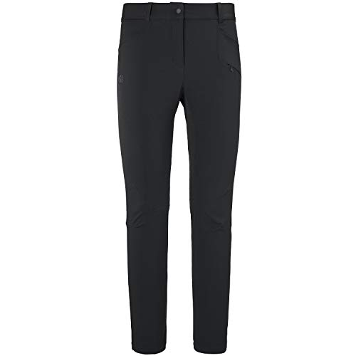 MILLET Damen Hose Wanaka Fall Stretch Pant, Black - Noir, M, MIV8874