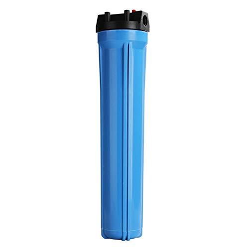 FILTER Sistema de filtración de Agua Big Blue para Toda la casa con filtros de sedimentos Finos de 20'x 4.5' y Bloques de carbón, Elimina el 99% del Cloro,3/4