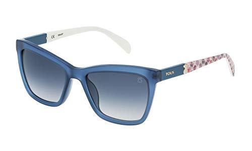 TOUS STO945-5303GR Gafas, Azul, 53/18/140 para Mujer