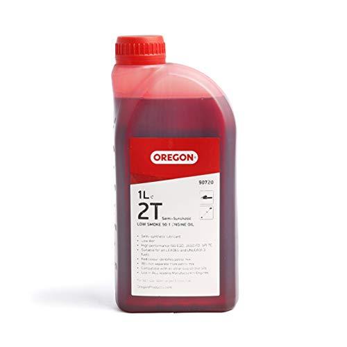 Oregon 90720 2-Stroke Semi-Synthetic Low Smoke Oil, 1 Litre