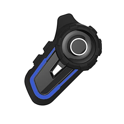 BTOSEP Auriculares de Casco de Motocicleta, Sistemas de comunicación de Casco de Motocicleta Casco Impermeable Bluetooth Intercom Reducción de Ruido Motorbike Auriculares Bluetooth