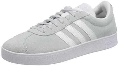adidas VL Court 2.0, Zapatillas de Deporte Mujer, AZUHAL/FTWBLA/Gricin, 38 EU
