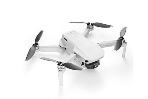 DJI Mavic Mini - Dron Ultraligero y Portátil, Sin Care Refresh, Duración Batería 30 minutos, Sin Tarjeta, Distancia Trasmisión 2 Km, Gimbal 3 Ejes, 12 MP, Video HD 2.7K, Blanco