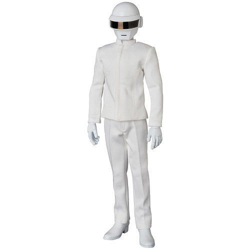 Voir de costume blanc de Thomas Bangalter Daft Punk figure RAH 1/6. 30 cm