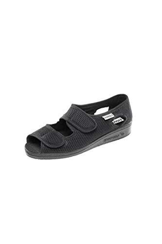 EMANUELA 663 Pantofole Donna Color Nero Nero 37