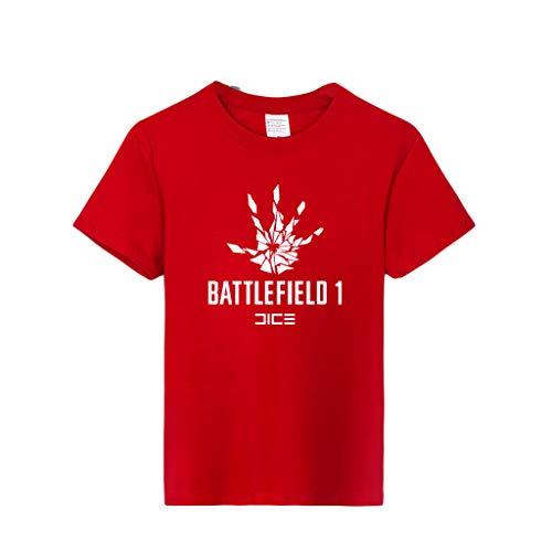 ACEGI - Battlefield 1 - Camiseta Estampada - Camiseta Hombre - Cuello Redondo - Moda - Camiseta algodón - Verano