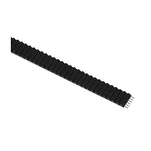 YIBANG-DIANZI 5M 2GT Open Timing Belt 6mm PU With Steel Core Rubber Fiberglass Timing Belt GT2 6mm Belt Black Color (Size : B type)