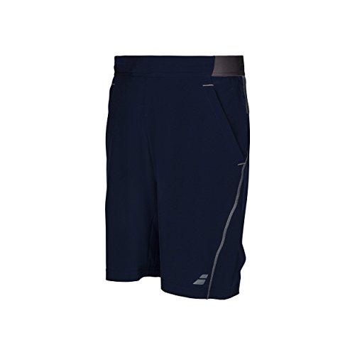 Babolat Performance - Pantalones cortos de tenis para niño (9 pulgadas), color azul marino, tamaño 12-14 años