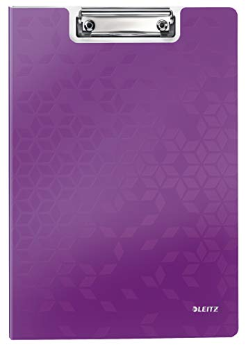 Leitz 41990062 Klemmmappe WOW, A4, violett