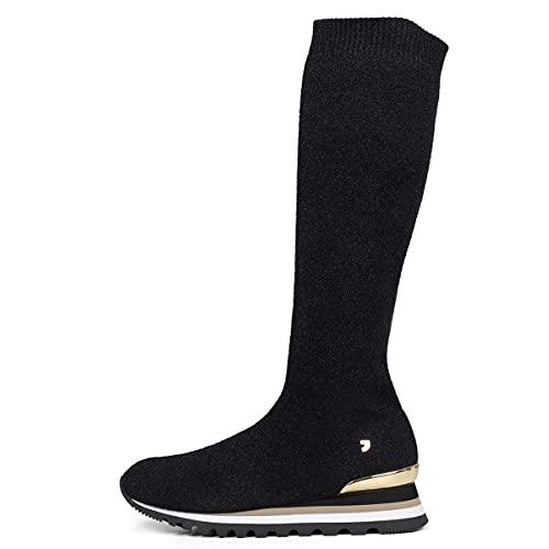Gioseppo 56703, Zapatillas Mujer, Negro Negro Negro, 41 EU