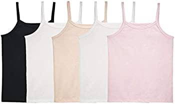 5-Pack Fruit of the Loom girls Undershirts (Camis & Tanks)