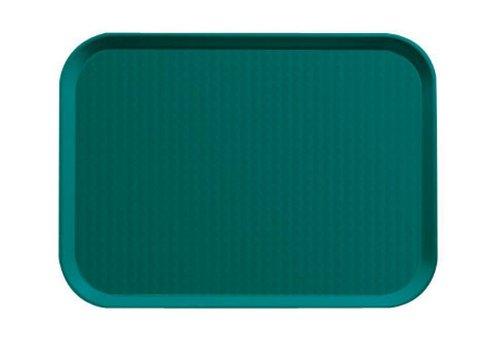 Agnelli AGN950V34 Vassoio Fast Food, Verde, 26.5 x 34.5 cm, Standard