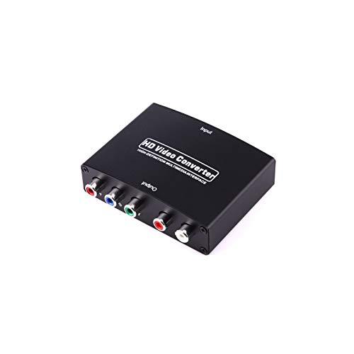 1080P HD HDMI à YPbPr Vidéo et Convertisseur Adaptateur Audio R/L