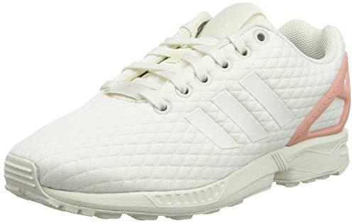 adidas Damen Zx Flux W Laufschuhe, Mehrfarbig (Off White/Off White/Trace Pink F17), 38 2/3 EU