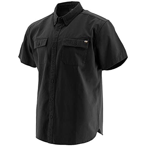 캐터필러 남성 버튼 업 S | S 셔츠