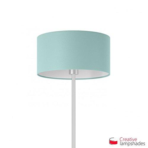 Hemelse Blauwe Cinette Cilinder Lampenkap E27 voor basis of hanger Diameter 50cm - H. 25cm