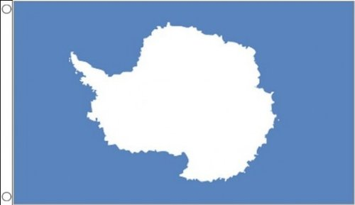 5ft x 3ft (150 x 90 cm) Antarctica Antarctican Antarctic 100% Polyester Material Flag Banner Ideal For Pub Club School Festival Business Party Decoration by Flag Co