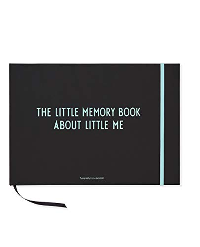 Design Letters livre The Little Memory Book Turquoise