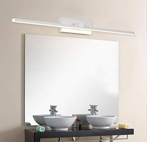 UMOOIN Impermeable IP44 luz del baño de Montaje en Pared Mueble de baño de Acero Inoxidable luz Blanca de la lámpara de luz LED Espejo del baño,22w/120cm,3500k
