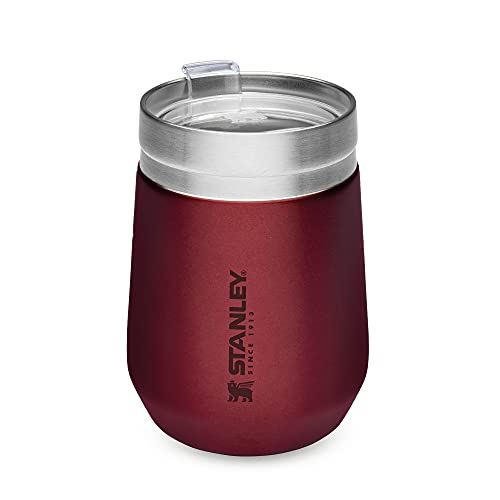 Stanley Go Everyday Tumbler 0.29L / 10 OZ Wine – Stainless Steel Tumber for Wine, Cocktails, Coffee, Tea - Keeps Cold / hot for Hours - BPA-Free - Dishwasher Safe - Lifetime Warranty