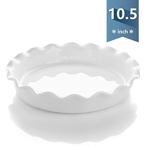 Porcelain Pie Pan 10.5 Inches
