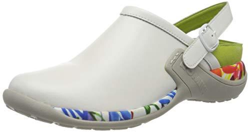 Romika Damen Milla 127 Clogs, Weiß (Weiß-Kombi 001), 39 EU