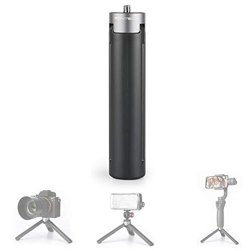 Honbobo Pre-Venta PGYTECH Aluminio Mano Soporte para teléfono Trípode Montar Soporte para dji Osmo Pocket, 1/4 Thread Support, micrófono Externo y luz LED