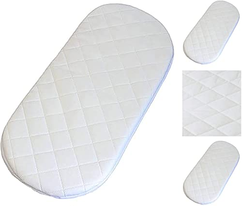 Bluemoon Bedding® Quilted Breathable PRAM Mattress FITS Baby Style Oyster CARRYCOT PRAM