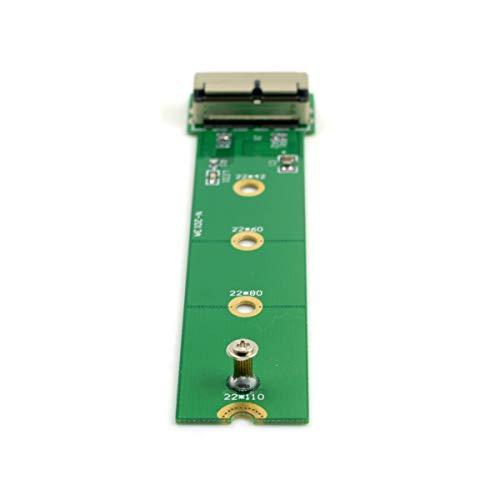 CY PCI Express PCI-E 4 x M.2 NGFF m-Key 2013 2014 2015 Apple MacBook SSD Konvertieren Karte für A1493 A1502 A1465 A1466 Grün
