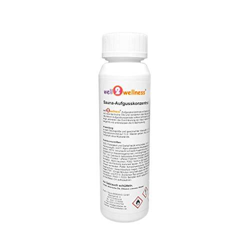 well2wellness® Sauna Aufguss Eukalyptus & Birke, 125 ml
