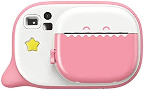 Kinder Digitalkamera Spielzeug kann Fotos Video Baby Fotografie Mini HD Kinder Urlaub Geburtstagsgeschenk nehmen (Farbe   Rosa, Größe   85  126  41mm)