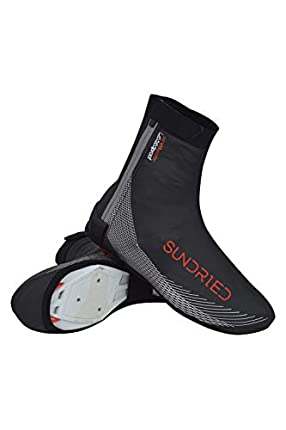 Sundried Ciclismo Overshoes Mejor para el Invierno Verano Impermeable Overshoes la Bici del Camino de MTB Bicicleta de montaña Accesorios de Ciclismo (Black, XXL)