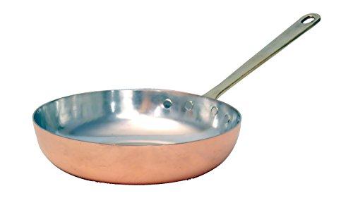 Bottega DEL Rame - Poêle pour cuisinières à induction, diamètre 30 cm