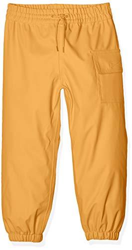 Hatley Splash Pants Pantalones Impermeables, Amarillo (Yellow 700), 10 años para Niños