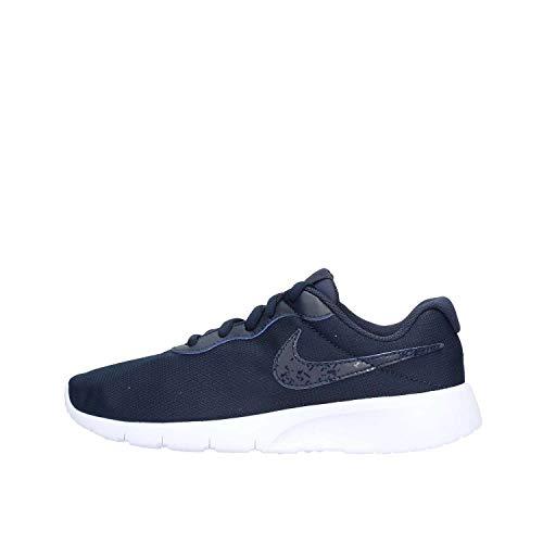 Nike Kids Tanjun BR (GS) ChlorineBlue/FreshMint/White Running Shoe 3.5