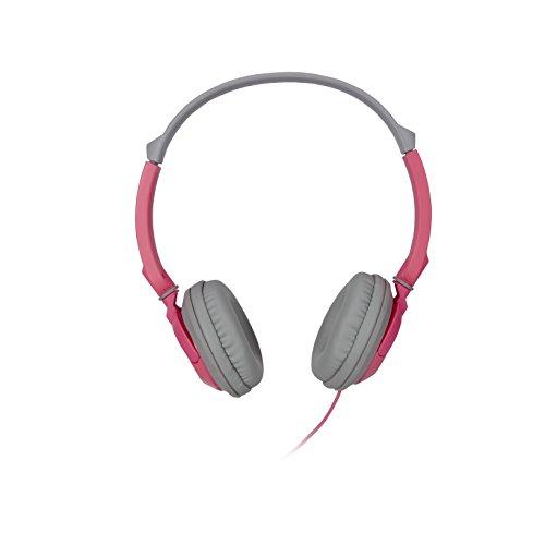 TDK Ultimate Comfort ST-100 Ultralight Stereo Headphones Pink