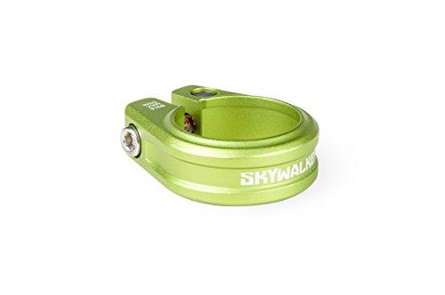 Sixpack Skywalker Sattelklemme, Electric-Grün, 31.8mm