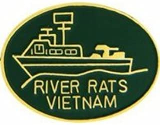 MilitaryBest Vietnam River Rat Pin