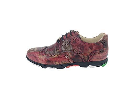 [RIPRESA] GOLF Rose Casual Genuine Leather Golf Sneakers (measurement_24_point_0_centimeters)