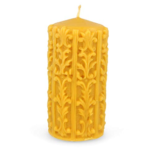 Apiary Jacob's Honing HAND MADE CELTIC PURE BEESWAX KANDLE