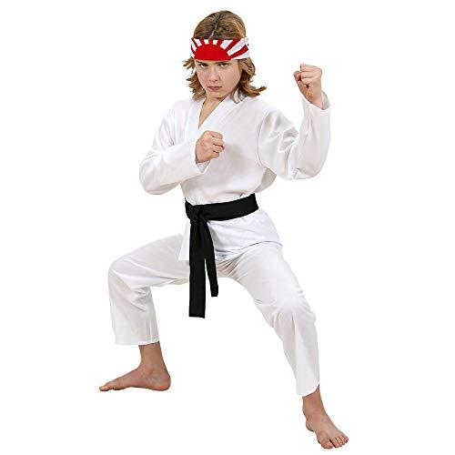 WIDMANN Disfraz Infantil de Karate Kid, Multicolor, 140 cm (73067)