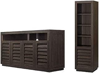Best better homes and gardens ellis shutter bookcase storage cabinet Reviews