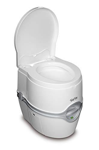 Thetford 92306 Porta Potti 565E (Elektric) Tragbare Toilette, Weiß-Grau, 448 x 388 x 450 mm