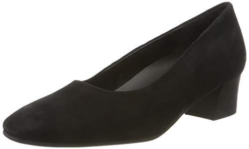 Gabor Damen Comfort Fashion Pumps, Schwarz (Schwarz 47), 38 EU
